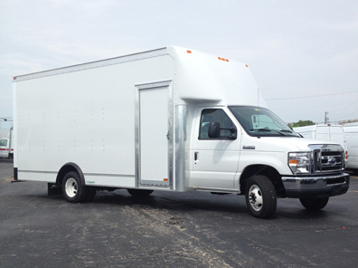Ford Cutaway New Route Truck Lease Options Fedex