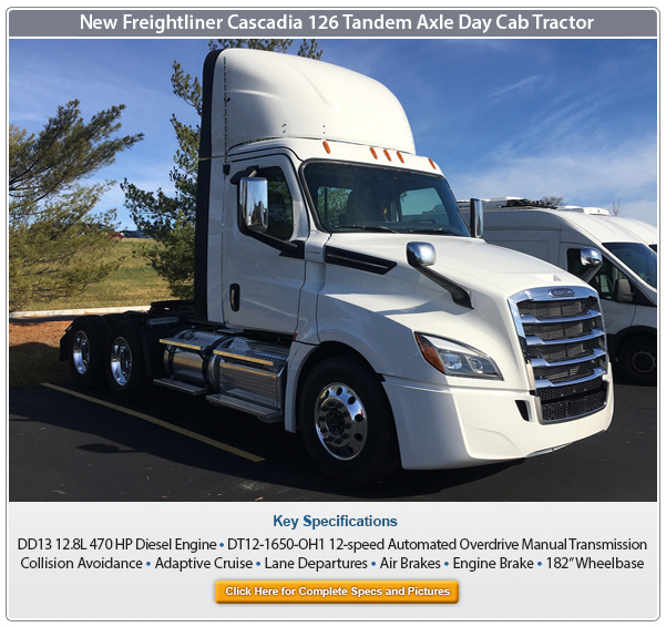 Freightliner Cascadia 126 for sale
